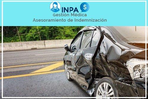 accidente tráfico coche de empresa