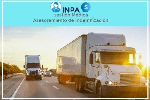 reclamaciones por accidentes de camión comercial