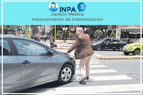 indemnizacion por accidente peatonal