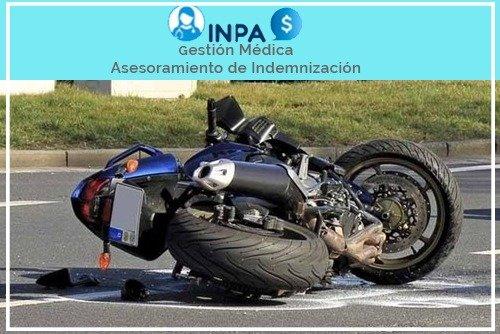 indemnizacion por accidente de motocicleta