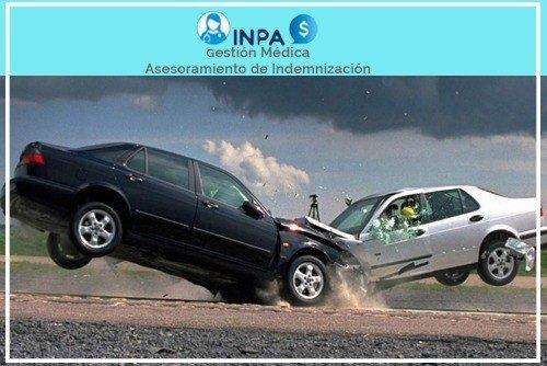 indemnización por colisiones frontales