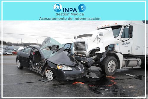 reclamaciones por accidentes de camiones