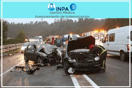 indemnizaciones en accidentes en vía pública