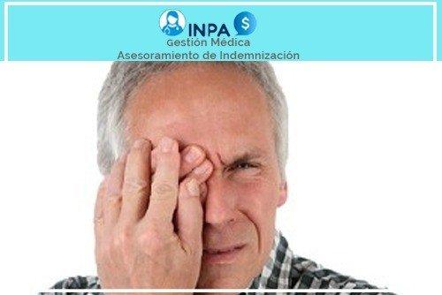 indemnización por pérdida de visión