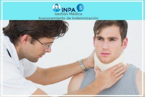 indemnizaciones por lesiones en el cuello