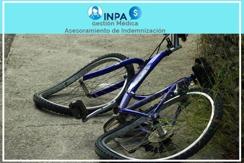 reclamacion por accidente de bicicleta