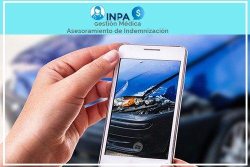 fotografía de accidentes